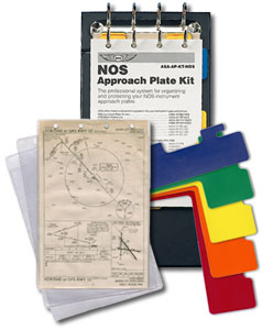 NOS Approach Plate Binder Kit