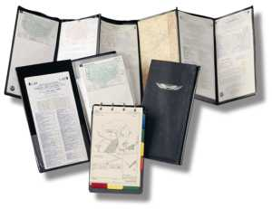 Accordion Fold Aviation Chart Wallet