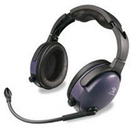 Denali II Passive Aviation Headset - Graphite Blue