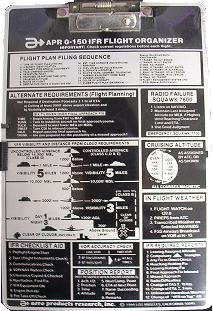 APR 0-150 PIlot IFR Kneeboard