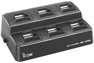 6 Slot Multi Desktop Charger