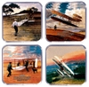 Wright Brothers Coasters Set