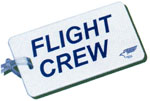 Flight Crew Luggage Tag