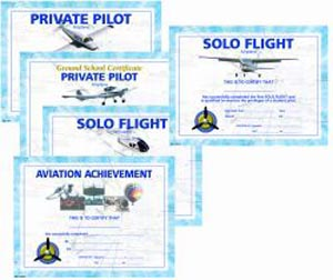 Pilot Training Achievement Certificates