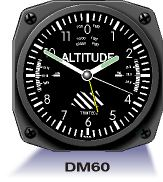 Aircraft Instrument Alarm Clock - Altimeter