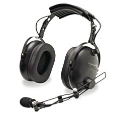 Flightcom 4LX Listen Only Aviation Headset