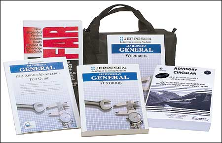 Jeppesen A&P Technician General Training Kit