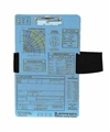 Jeppesen VFR Aviation Kneeboard Clipboard with Leg Strap JS626001