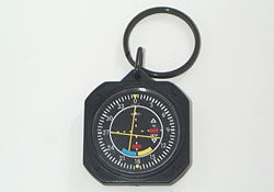 VOR Instrument Key Chain