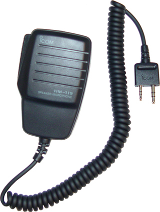 Speaker Mic for ICOM Handheld Transceivers