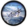 Aircraft Wall Clock - F6F Hellcat