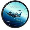 Aircraft Wall Clock - Corsair