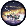Aircraft Wall Clock - P40 Warhawk