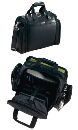Leather Pilot Kit Bag