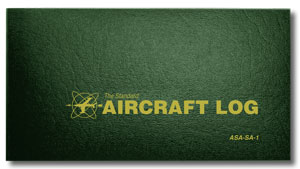 ASA Aircraft Log Soft Cover