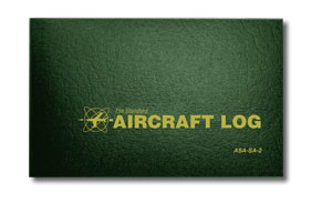 ASA Aircraft Log Hard Cover