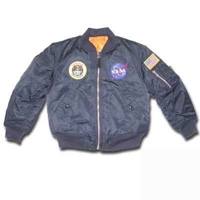 Men's MA-1 NASA Flight Jacket