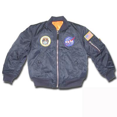 Youth NASA MA1 Flight Jacket