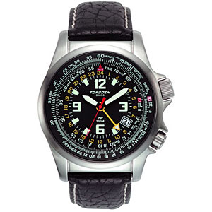 Torgoen Zulu & E6B Combination Pilot Watch T06101