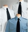 Long Sleeve Mens Blue Aviator Shirt - Van Heusen