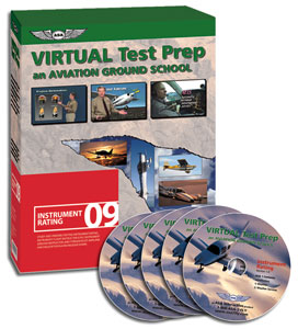 Instrument Pilot Virtual Test Prep DVDs