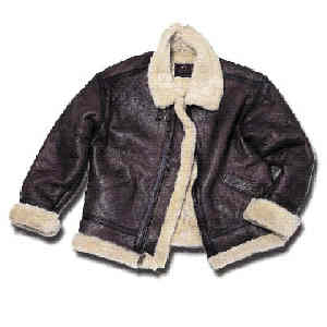 MA-1 Leather Flight Jacket