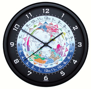 World Time Zones Clock