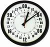 24 Hour Aviation Zulu Time Wall Clock
