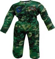 Children's Flightsuit - Camouflage