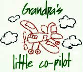 Grandpa's Little Co Pilot Tee Shirt