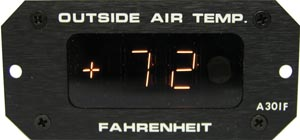 Digital Outside Air Temperature