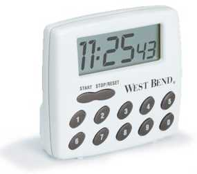Westbend Stopwatch Flight Timer