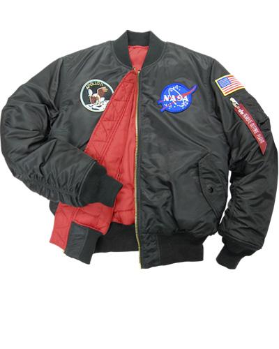 nasa apollo flight jacket - photo #8