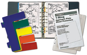 7-Ring Approach Plate Binder Kit