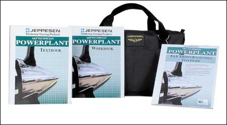 Jeppesen A&P Technician Powerplant Kit