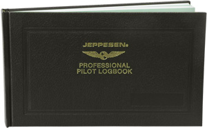 Jeppeson Professional Pilot Logbook