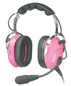 Pilot USA PA-1181T Ladies Pink Aviation Headset