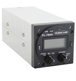 Flightline FL-760 VHF Comm Panel Mount Transceiver