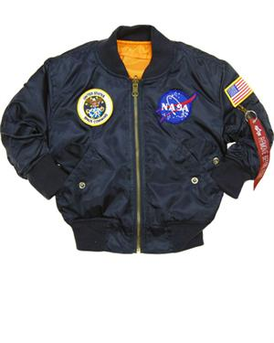 Youth NASA MA1 Flight Jacket