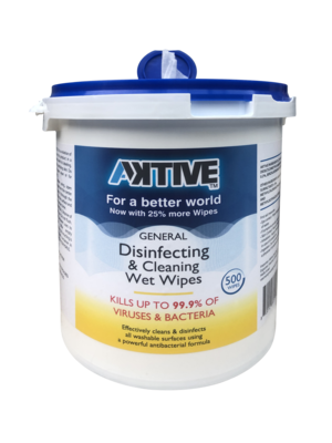 Aktive Disinfecting Wipes - 500 count
