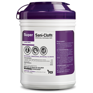 Super Sani-Cloth® Germicidal Wipes