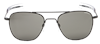 Randolph Aviator Sunglasses, Matte Black Frame 55 mm